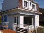 ravalement refait en 2017 : accès séjour depuis terrasse