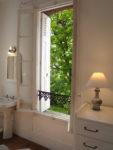 chambre Pierre Lefort, 1er étage, vue sur les jardins exceptionnelle en centre ville