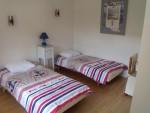 chambre 1 avec deux lits de 90