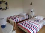 chambre 2 avec deux lits de 90