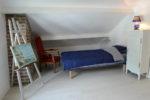 La chambre n°3 à l'étage avec deux lits simples